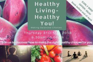 HEALTHY LIVING, HEALTHY YOU WORKSHOP