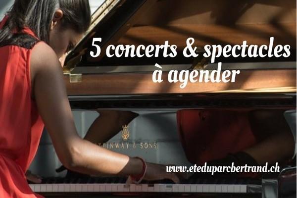 Parc Bertrand concerts