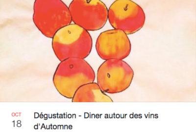 autumnwinetasting Restaurant le Philanthrope